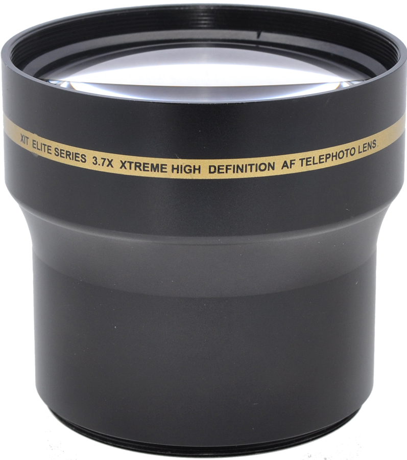 Elite Series 3.7x Xtreme High Definition AF Telephoto Lens - 52/58MM (better than 3.5x)