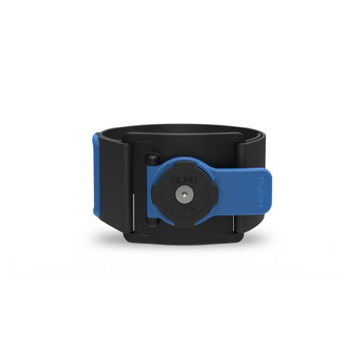 Quad Lock Sports Armband, Black/Blue